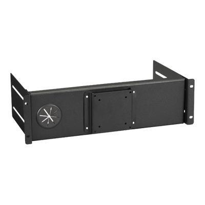 Black Box RM982F Flat-Panel Monitor Mount for Racks Fixed - Monitor mounting kit - rack mountable
