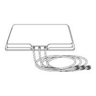 Cisco AIR-ANT5160NP-R= Aironet 5-GHz MIMO 6-dBi Patch Antenna - Antenna - wall mountable - indoor  outdoor - 6 dBi - directional