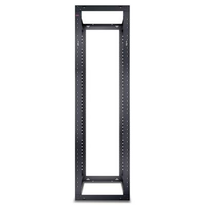 APC AR204A NetShelter 4 Post Open Frame Rack 44U #12-24 Threaded Holes