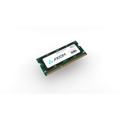 Axiom Memory AX31333S9Y/4G Axiom 4GB DDR3-1333 SODIMM # AX31333S9Y/4G