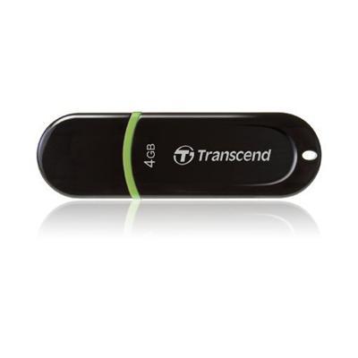 Transcend TS4GJF300 4GB Jetflash 300 USB Flash Drive Compact Design