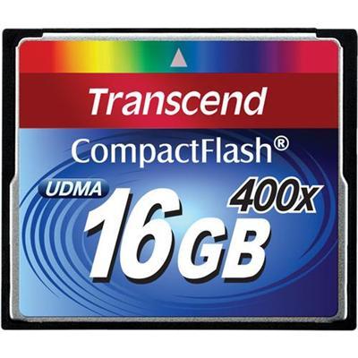 Transcend TS16GCF400 16GB 400X CompactFlash Memory Card