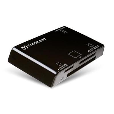 Transcend TS-RDP8K P8 - Card reader - 13 in 1 (Multi-Format) - USB 2.0
