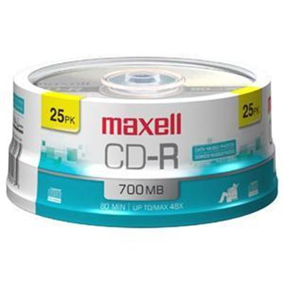 Maxell 648446 25 x CD-R - 700 MB ( 80min )
