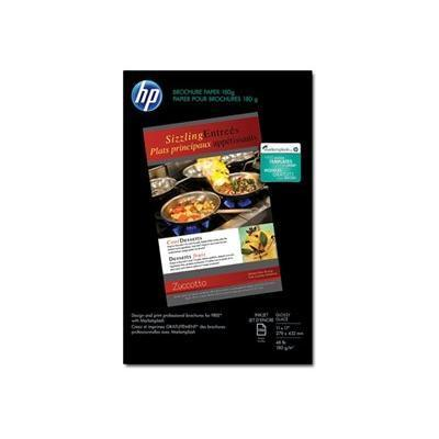 HP Inc. CG932A Inkjet Glossy Brochure Paper - 150 sheet/Tabloid/11 x 17 in