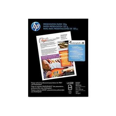 HP Inc. CG988A Premium Glossy Presentation Paper 120 gsm - 250 sheet/Letter/8.5 x 11 in