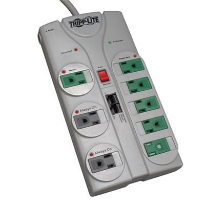 Click here for TrippLite TLP808NETG Eco Surge Protector Green 120... prices