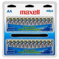 Maxell LR6 AA Alkaline Battery - 48 Pack Box