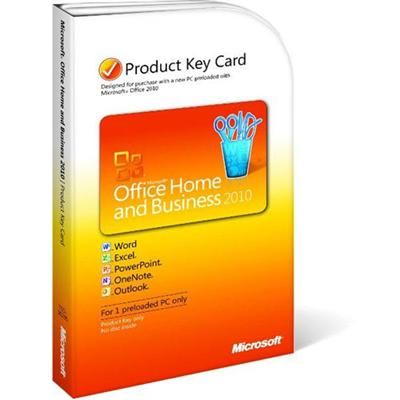 Office Home and Business 2010 - license