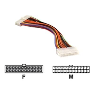 Super Micro CBL-0042L Supermicro CBL-0042L - Power extension cable - 24 pin ATX (F) to 24 pin ATX (M)