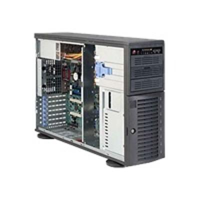 Super Micro CSE-743T-500B Supermicro SC743 T-500B - Tower - 4U - extended ATX - SATA/SAS - hot-swap 500 Watt - black - USB