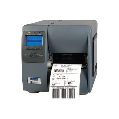 Datamax KJ2-00-08900007 M-Class Mark II M-4210 - Label printer - thermal paper - Roll (4.65 in) - 203 dpi - up to 600 inch/min - parallel  USB  serial - rewinde