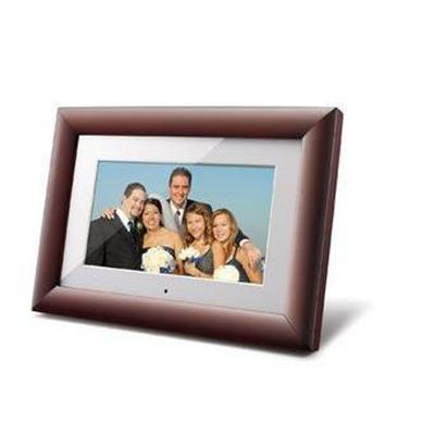 ViewSonic VFM1024W-11 - Digital photo frame - flash 128 MB - 10 - 1024 x 600 - wood