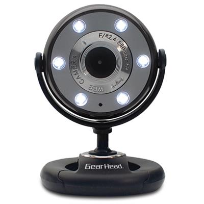 Quick WebCam with Night Vision WC1300BLK - web camera