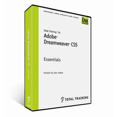 Total Training for Adobe Dreamweaver CS5 - Essentials - self-training course - DVD