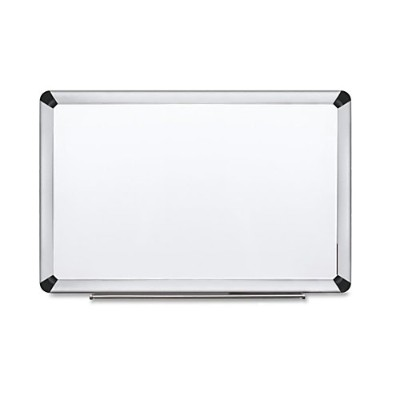 3M P7248FA Porcelain Dry Erase Board  Magnetic  Aluminum Frame 72 in x 48 in
