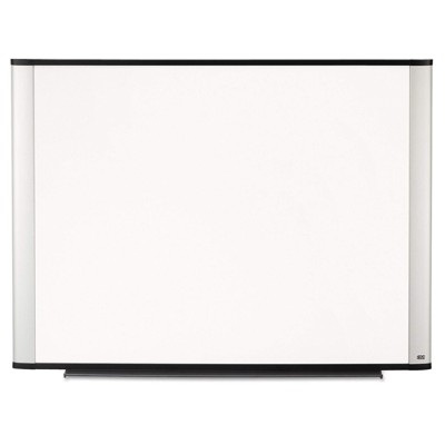 3M P4836A Porcelain Dry Erase Board  Magnetic  Aluminum Frame 48 in x 36 in