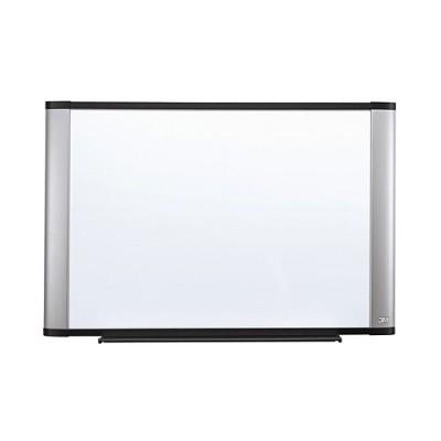 3M M9648A Melamine Dry Erase Board  Aluminum Frame 96 in x 48 in