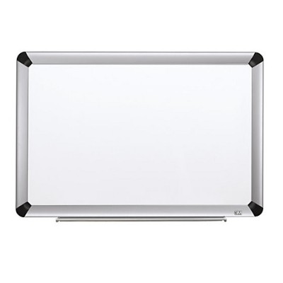 3M P9648FA Porcelain Dry Erase Board  Magnetic  Aluminum Frame 96 in x 48 in