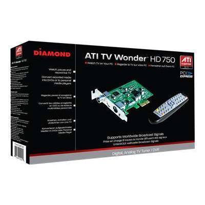 Best Data Tvw750pcie Diamond Ati Tv Wonder Hd 750 Pcie - Digital / Analog Tv Tuner / Video Capture Adapter - Pcie Low Profile
