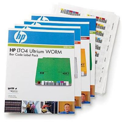 Hewlett Packard Enterprise Q2011A LTO-5 Ultrium RW Bar Code Label Pack