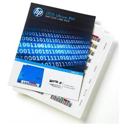 Hewlett Packard Enterprise Q2012A LTO-5 Ultrium WORM Bar Code Label Pack