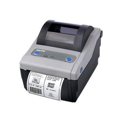Sato America WWCG18041 CG 408 - Label printer - DT/TT - Roll (4.2 in) - 203 dpi - up to 236.2 inch/min - USB  LAN