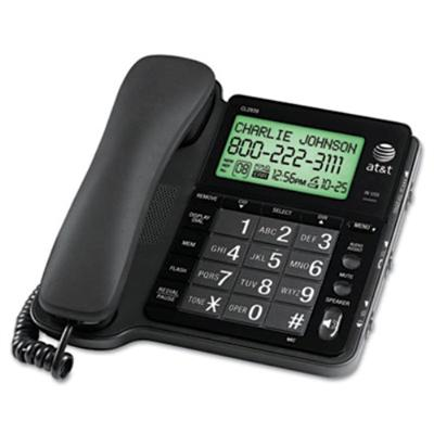 AT&T CL2939 Corded Phone - Black