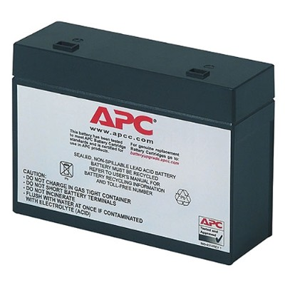 APC RBC10 Replacement Battery Cartridge #10 - UPS battery lead acid - black - for Back-UPS Office 280