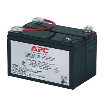 APC RBC3 Replacement Battery Cartridge #3 - UPS battery lead acid - black - for Back-UPS 450  600  600C  600VA  650M  650MI  650VA  PowerCell Network