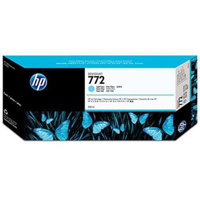 HP Inc. CN632A 772 - 300 ml - light cyan - original - ink cartridge - for DesignJet HD Pro MFP  Z5200  Z5200 PostScript  Z5400 PostScript ePrinter