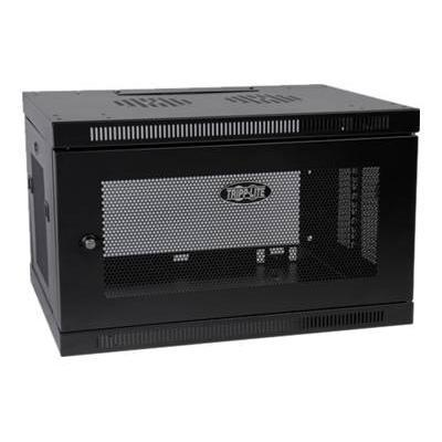 TrippLite SRW6U 6U Wall Mount Rack Enclosure Cabinet Wallmount with Doors & Sides 200lb Capacity