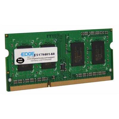 Edge Memory PE226442 2GB (1X2GB) PC3-8500 DDR3 SDRAM SODIMM 204-pin Memory Module