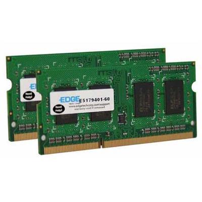 Edge Memory PE22644202 4GB (2X2GB) PC3-8500 DDR3 SDRAM SODIMM 204-pin Memory Module