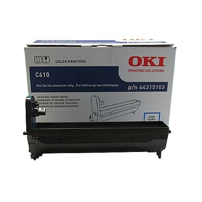 Oki 44315103 Cyan - drum kit - for C610cdn  610dm  610dn  610dtn  610n