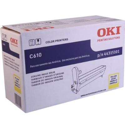 Oki 44315101 Yellow - drum kit - for C610cdn  610dm  610dn  610dtn  610n