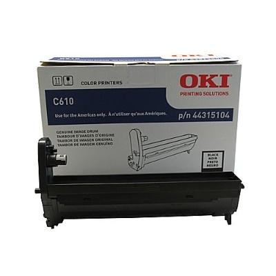 Oki 44315104 Black - drum kit - for C610cdn  610dm  610dn  610dtn  610n