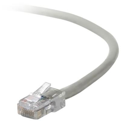 Belkin A3L791-03 Patch cable - RJ-45 (M) to RJ-45 (M) - 3 ft - UTP - CAT 5e - stranded - gray - B2B - for Omniview SMB 1x16  SMB 1x8  OmniView IP 5000HQ  OmniVi