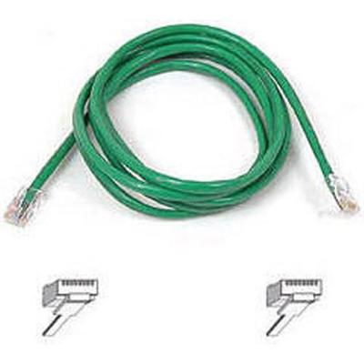 Belkin A3L791-04-GRN Patch cable - RJ-45 (M) to RJ-45 (M) - 4 ft - UTP - CAT 5e - green - for Omniview SMB 1x16  SMB 1x8  OmniView IP 5000HQ  OmniView SMB CAT5