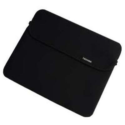 "Toshiba Neoprene Sleeve - Notebook sleeve - 10.1"" - black - for NB200  NB205  NB250  NB255  NB300  NB305  NB500  NB520  NB550  Thrive AT105"