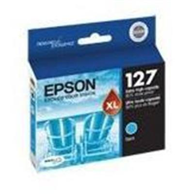 127 - Cyan - original - ink cartridge - for Stylus NX530  WorkForce 545  630  632  633  635  645  845  WF-3540  WF-7010  WF-7520 - Epson T127220