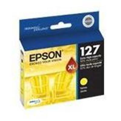 Epson T127420 127 - Yellow - original - ink cartridge - for Stylus NX530  WorkForce 545  630  632  633  635  645  845  WF-3540  WF-7010  WF-7520