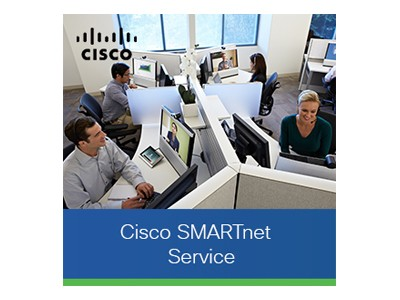 Cisco CON-SNT-3560X2PL SMARTnet - Extended service agreement - replacement - 8x5 - response time: NBD - for Catalyst 3560X-24P-L