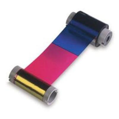 Fargo 81733 1 - black  yellow  cyan  magenta - print ribbon - for Persona C10  C11  C15  C16  C25  Pro L ID  LX  LX ID