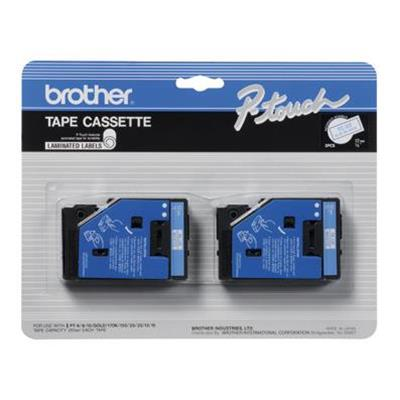 Brother TC22 2pk 1 2 Blue on White