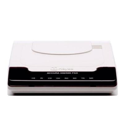 Zoom H08-03328-DG Hayes ACCURA V.90/56K Ext Data/FAX - Fax / modem - RS-232 - 56 Kbps - K56Flex  V.90