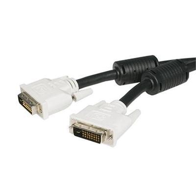 StarTech.com 1 ft DVI-D Dual Link Cable - M/M - DVI cable - dual link - DVI-D (M) to DVI-D (M) - 1 ft - black - for P/N: USB32DVIPRO