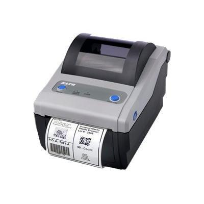 Sato America WWCG12061 CG412 - Label printer - B/W - monochrome - direct thermal - thermal paper - Roll (4.2 in) - Other - Roll (4.2 in) - 305 dpi - 305 dpi - u