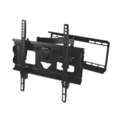 SIIG CE-MT0512-S1 CE-MT0512-S1 - Wall mount for plasma / LCD / TV - steel - black powder coat - screen size: 23-42