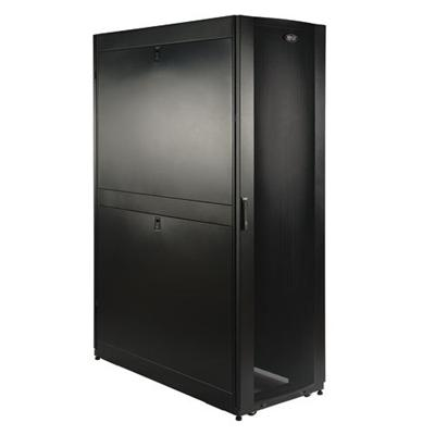 TrippLite SR42UBDP 42U Rack Enclosure Server Cabinet 47.25 Deep with Doors & Sides 3000 lb Capacity